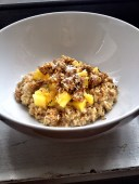 Pineapple Coconut Chia Oats