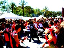 Drum line in Barcelona