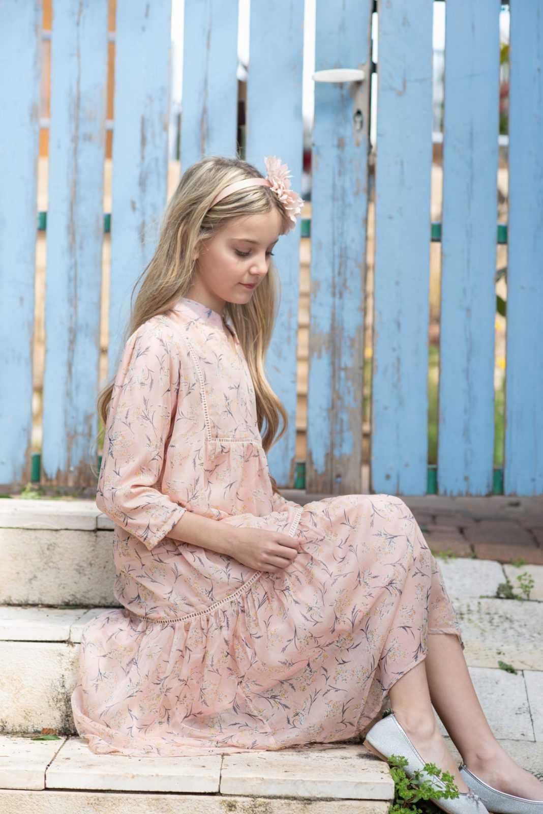 שמלת אוריה שיפון