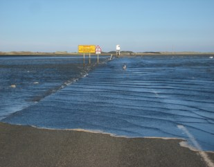 Alnwick (and the tide at Holy Island)