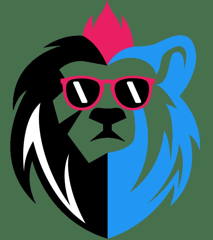 lion bear media head