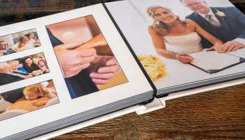 quality bellissimo apertura wedding album from loxley