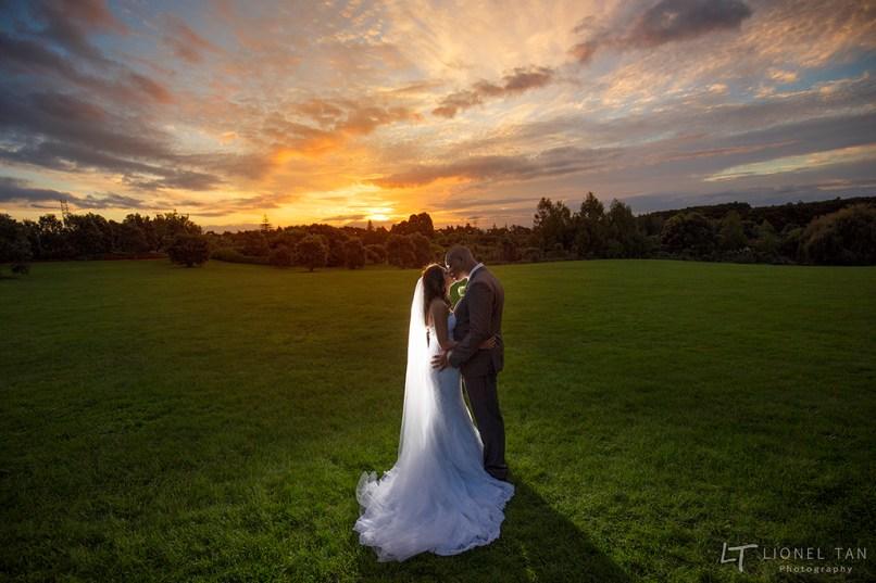 auckland wedding photography botanical gardens
