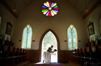 auckland church wedding