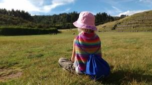 meditating at Saqsaywaman