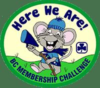 Here We Are BC Membership Challenge