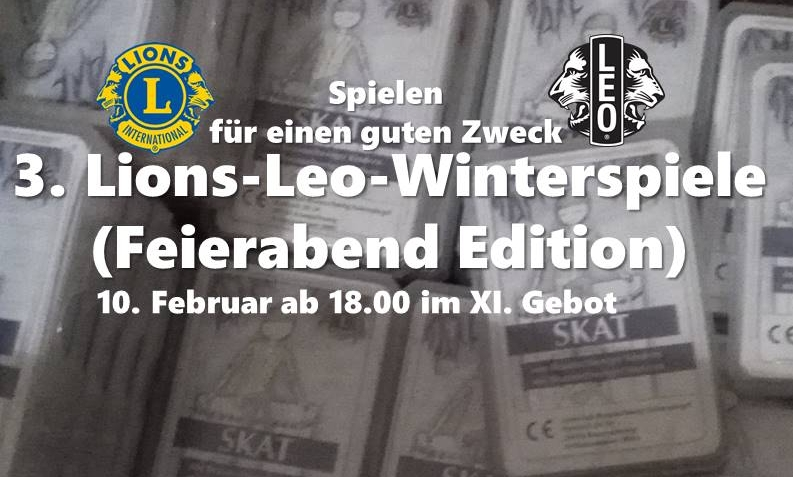 Der Spieleabend von Lions Club Braunschweig Eulenspiegel und Leos