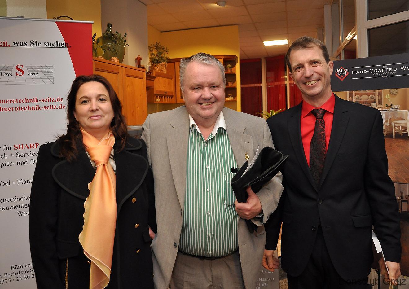 Greizer Lions gratulieren Jörg Hierold zum 50. Geburtstag