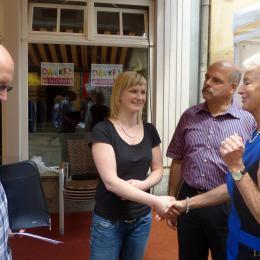 Unbürokratische Soforthilfe durch Lions Club und Industrieforum