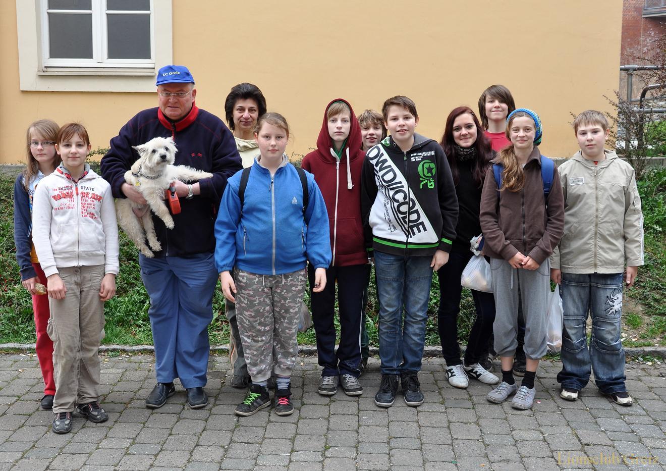 Lionsclub Greiz rief zum Frühjahrsputz auf