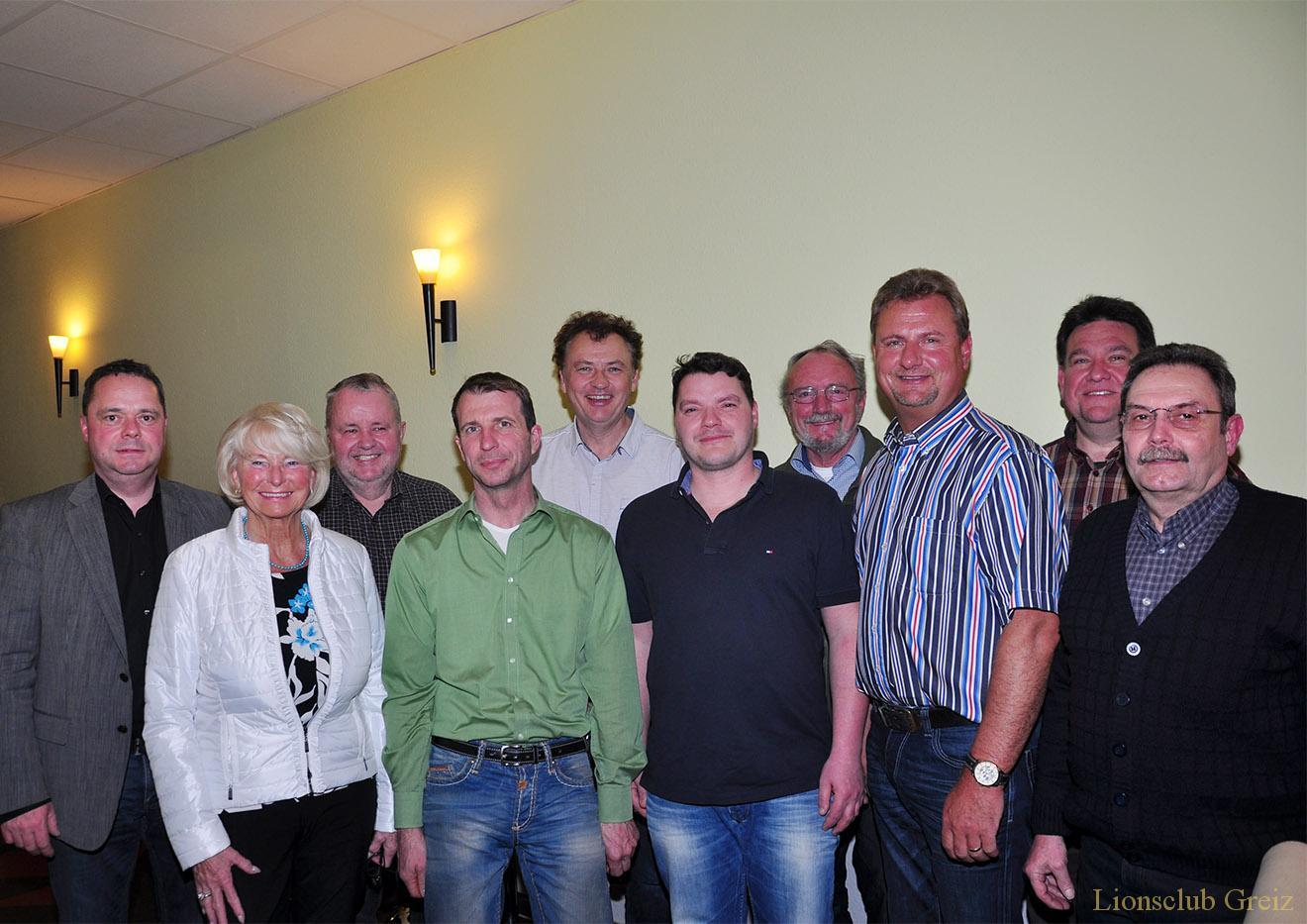 Lions Club Greiz wählte neuen Vorstand