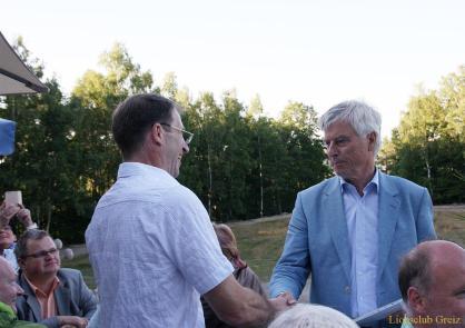 Viele Gäste beim Sommerfest des Greizer Lions Clubs