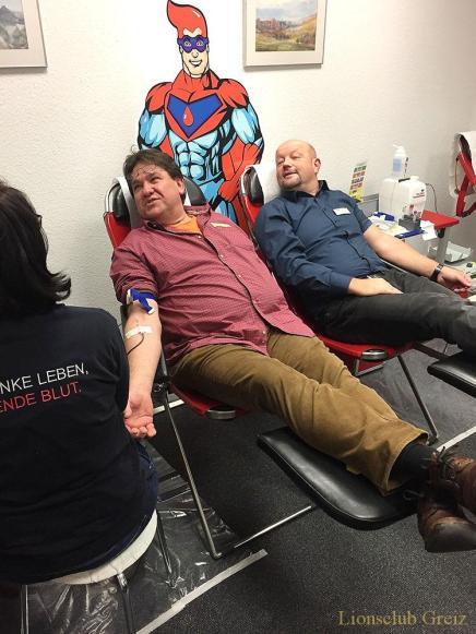 DAK Greiz: Blut spenden. Gutes tun.