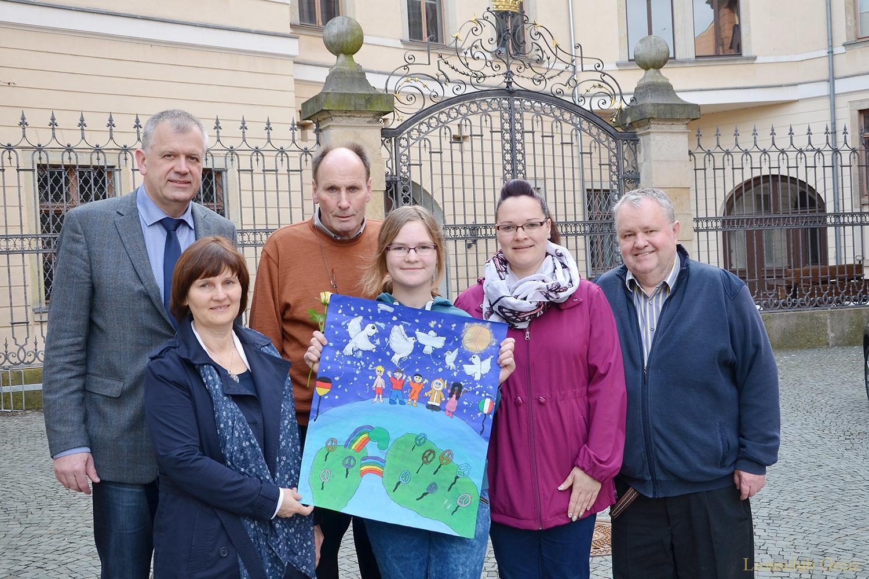 Lions Club Greiz: Jona wurde Zweite beim Friedensplakatwettbewerb
