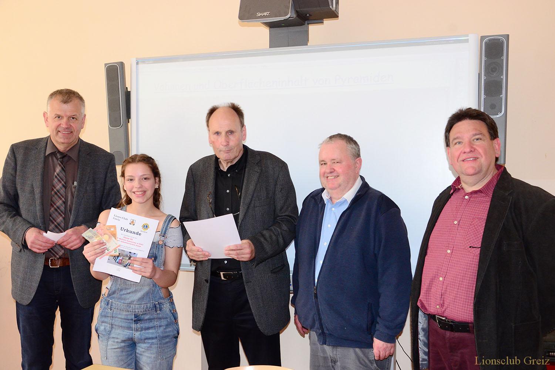 Lionsclub Greiz ehrt fleißigste Teilnehmer am Frühjahrsputz