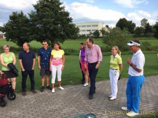 Lions Club Greiz: Schnupperstunde auf dem Golfplatz