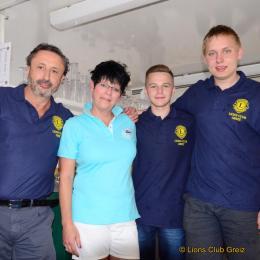 Das Team des Lions Clubs Greiz