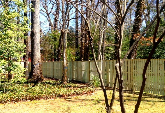 Board on Board Privacy Mount Vernon Fairfax County VA by Lions Fence 3