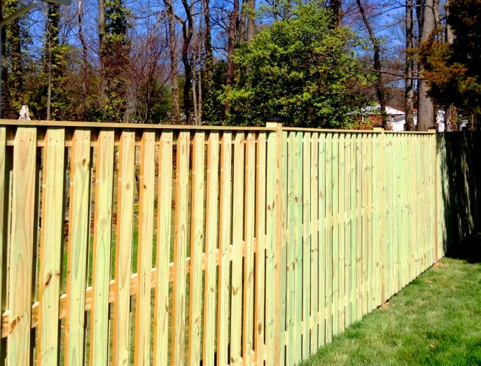 Board on Board Privacy Mount Vernon Fairfax County VA by Lions Fence