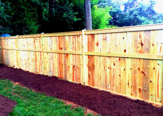 Solid Board Treated Pine Vienna Fairfax County Northern Virginia by Lions Fence 2