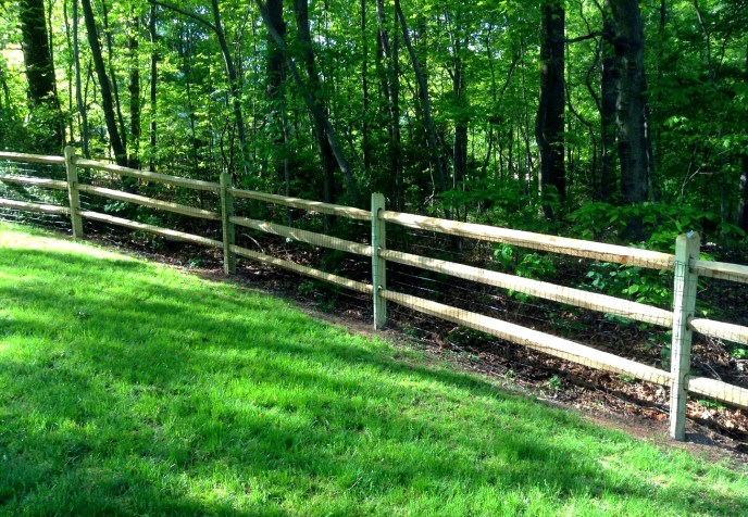 Split Rail Fence Loudoun County VA by Lions Fence 2