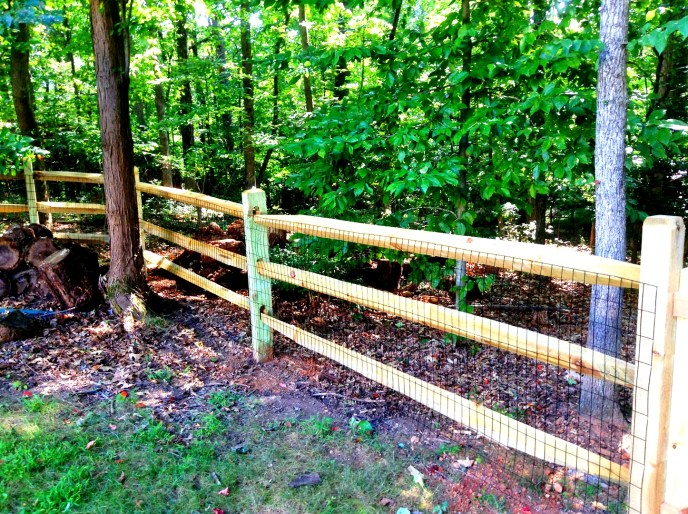 Split Rail Fence Loudoun County VA by Lions Fence 7.
