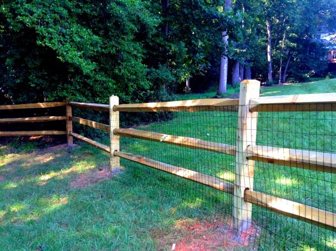 Split Rail Fence Loudoun County VA by Lions Fence 9.