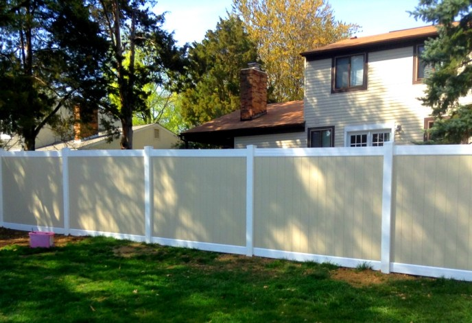 Vinyl Privacy Fence Herndon Fairfax County VA 3