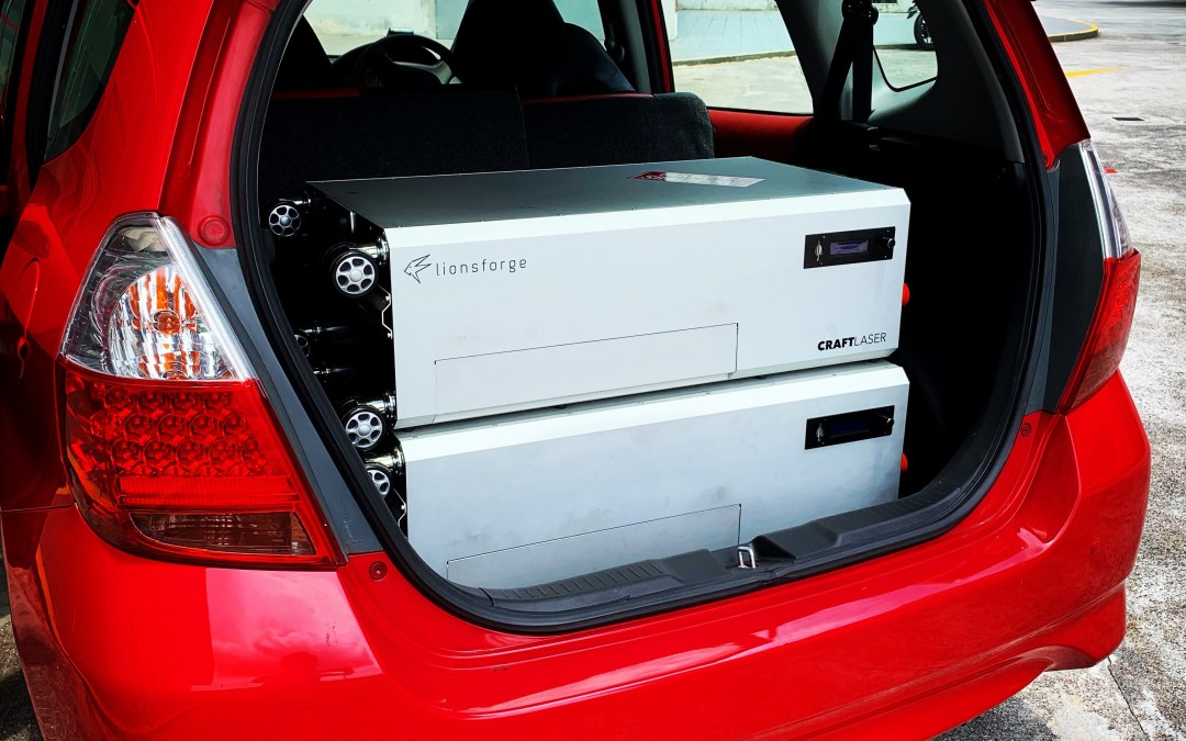 Heading out for EMC testing at UL GmbH