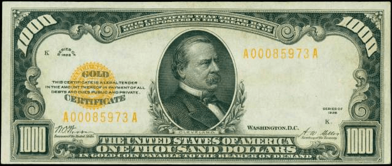 $1000 Gold Certificate - Multi-Source and Self-Sovereign Identity