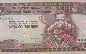 Ethiopia Ten Birr
