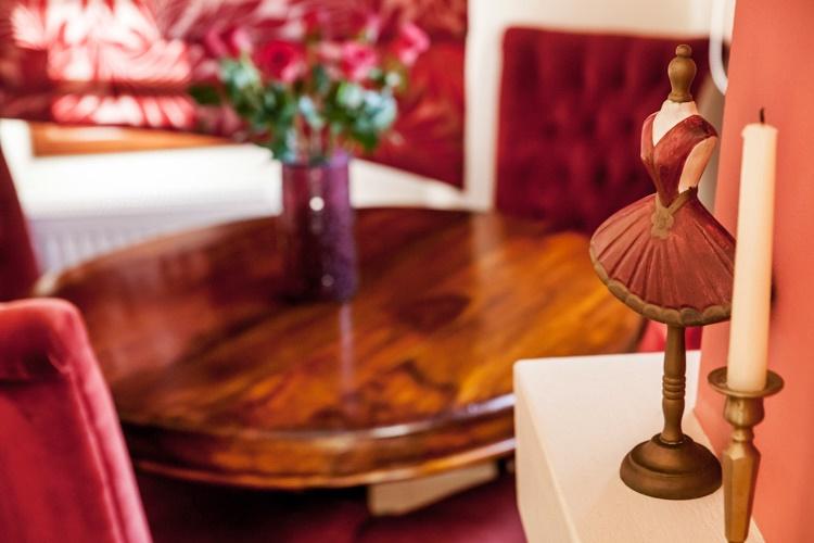 Cranberry-Suite 2- Dinning table-Pelion Hotel