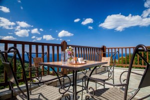 Coral - Suite 1- View from balcony-PELION HOTEL