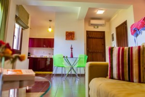 Lime - Studio 4-Living room -Dinning -PELION HOTEL