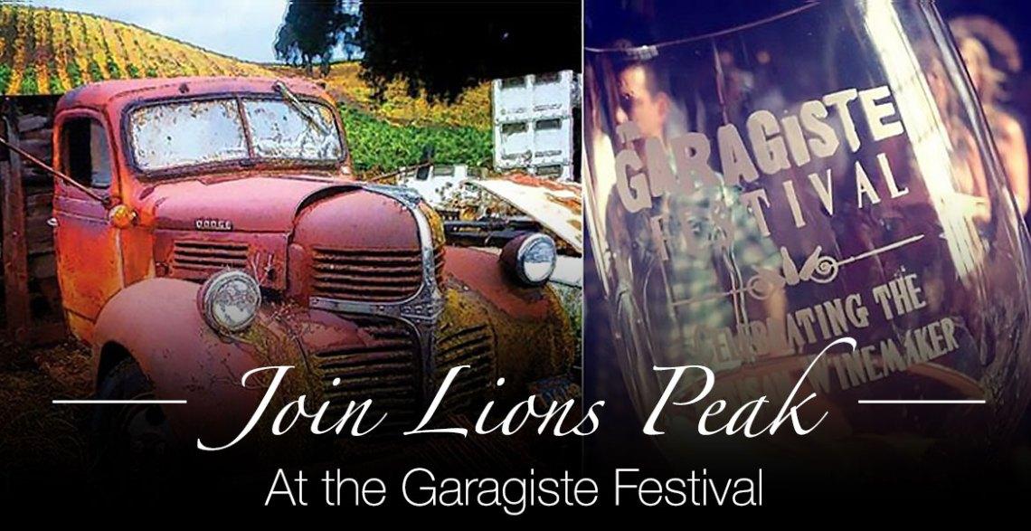 Garagiste Festival in Paso Robles November 8th & 9th