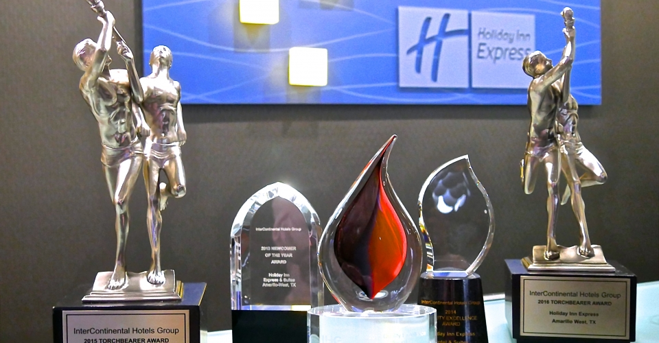 Holiday Inn-Amarillo West Awards
