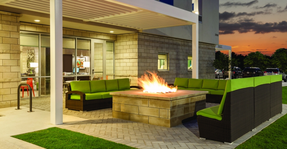 Home2 Suites by Hilton Austin North Near Domain – Outdoor Area with Fire Pit – 1031383