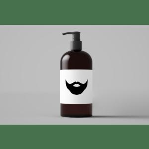 Recipiente de Xampu para Barba