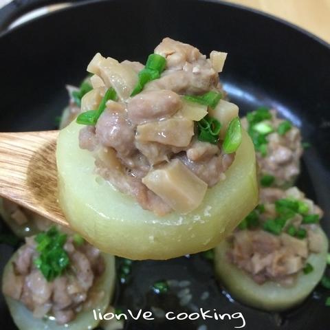 榨菜肉絲蒸節瓜