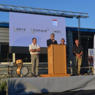 Inauguration agence Liotard Crest