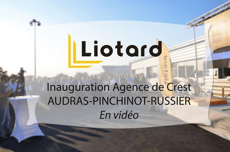 Inauguration agence audras pinchinot vidéo