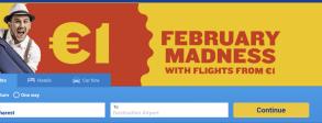 Ryanair anunță zboruri la 1 euro