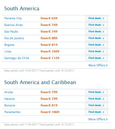 Oferta-de-primăvară-KLM-America-de-Sud
