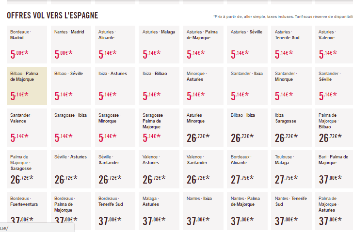 oferte-5-euro-spania