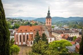 Baden-Baden, orașul-spa de lângă munții Pădurea Neagră (P)