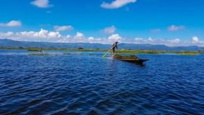 Tur cu barca la Inle Lake, Myanmar