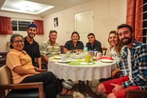 În mijlocul familiei în Costa Rica