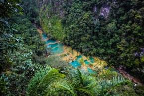 Explorând Semuc Champey independent. Unul dintre cele mai frumoase locuri din Guatemala