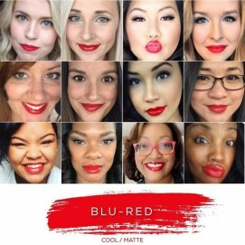 Blu-Red - One left! In stock now Distributor ID 334027