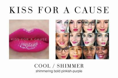 Kiss for a Cause - In stock now Distributor ID 334027